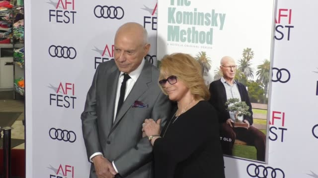 annmargret and alan arkin at a netflix original series the kominsky method los angeles premiere at afi fest at tcl chinese theatre on november 10... - ann margret stock videos & royalty-free footage
