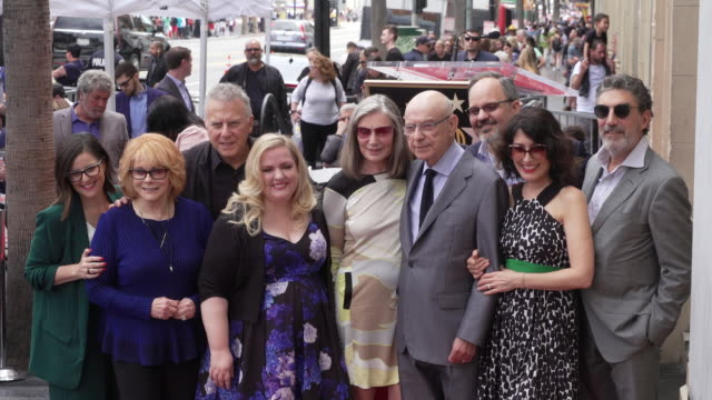 annmargret paul reiser alan arkin lisa edelstein chuck lorre sarah baker susan sullivan at the alan arkin honored with a star on the hollywood walk... - ann margret stock videos & royalty-free footage