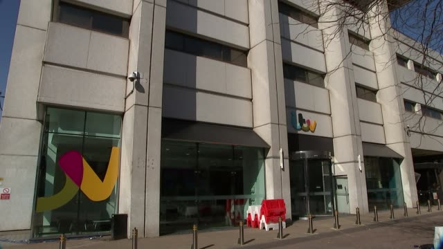 ITV announces gender pay gap of 119 per cent ENGLAND London EXT Various of ITV headquarters