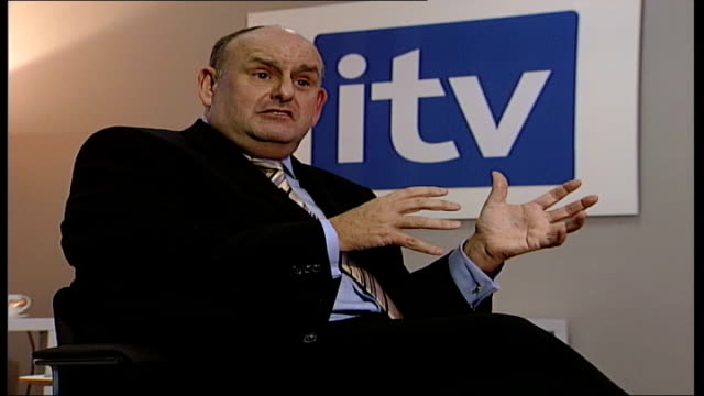 ITV announces unexpected profits ENGLAND London INT Charles Allen interview SOT ITV is more than ITV1/ 33 per cent of the turnover comes from outside...
