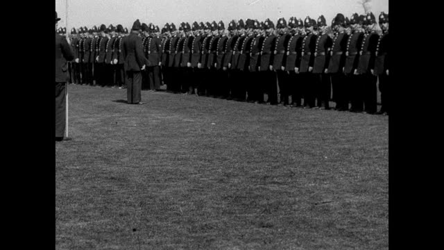 Annual Inspection of the Police at Birchfields Park 1901