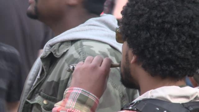 Annual marijuana rally in Denver Colorado