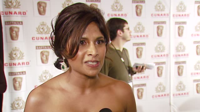anoja dias on the event, her new tv show, what she loves about americans at the 2006 bafta/cunard britannia awards at the hyatt regency century plaza... - hyatt regency stock videos & royalty-free footage