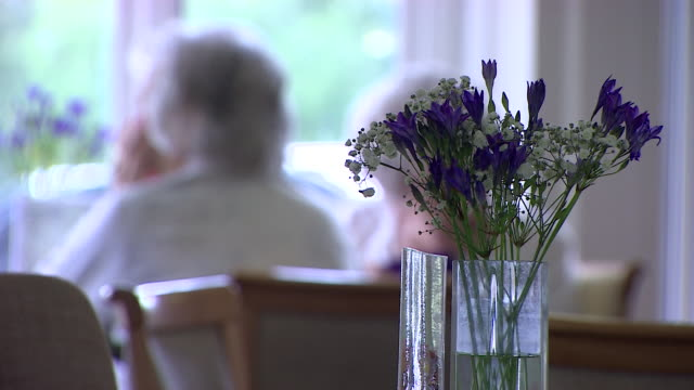 anonymous interiors of elderly people in care home - old stock videos & royalty-free footage