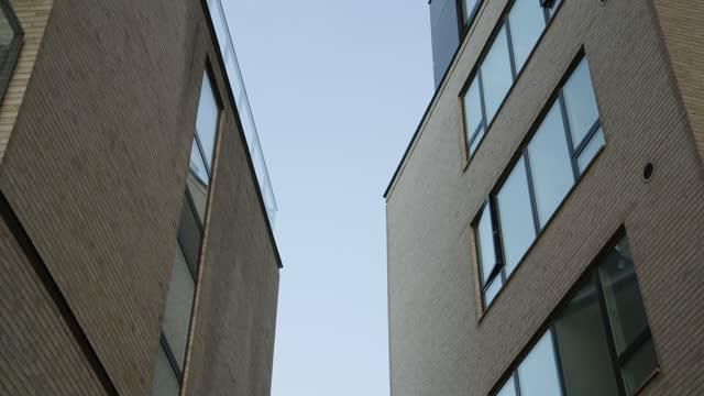 anonyma moderna byggnader - fönsterrad bildbanksvideor och videomaterial från bakom kulisserna