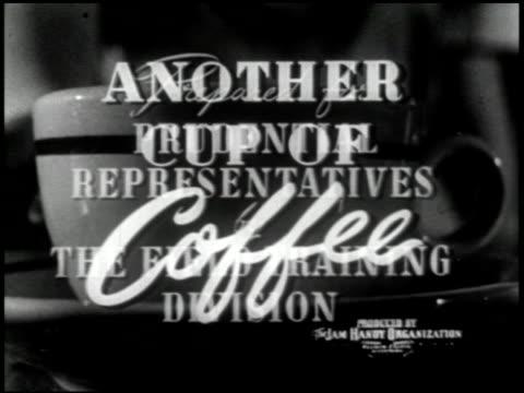 another cup of coffee - 1 of 13 - altri spezzoni di questa ripresa 2088 video stock e b–roll