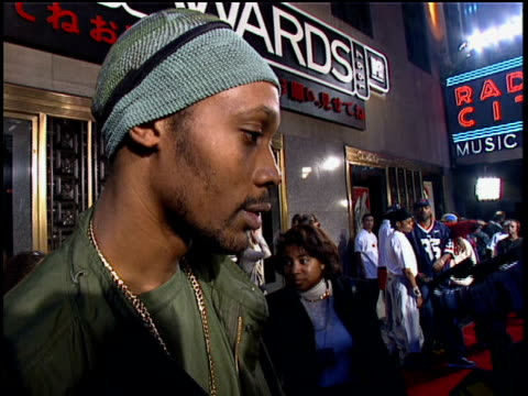 RZA answering questions about the success of WuTang Clan and his hopes to meet Tyra Banks