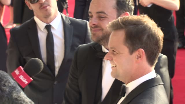 stockvideo's en b-roll-footage met ant dec at the house of fraser british academy television awards on may 08 2016 in london england - ant mcpartlin