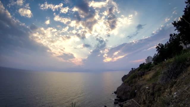 HD Antalya Sunset Timelapse