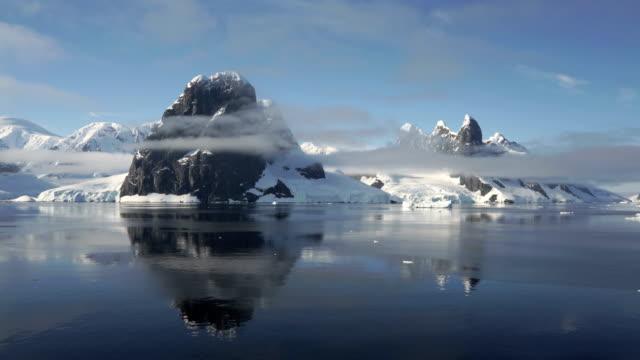 antarctic coast in summer - stratus stock videos & royalty-free footage