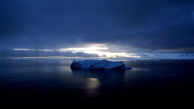 antarctic peninsula - antarctica iceberg stock videos & royalty-free footage