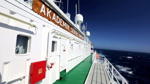 antarctic transport ship - drake passage stock videos and b-roll footage