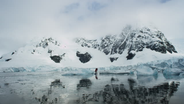 Antarctica, Glaciers and Mountains, Sailboat