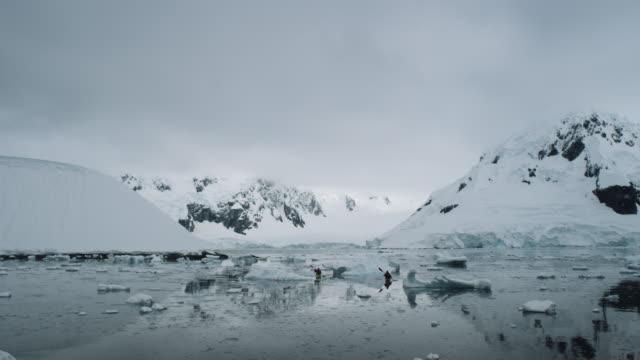 Antarctica, Glaciers and Mountains