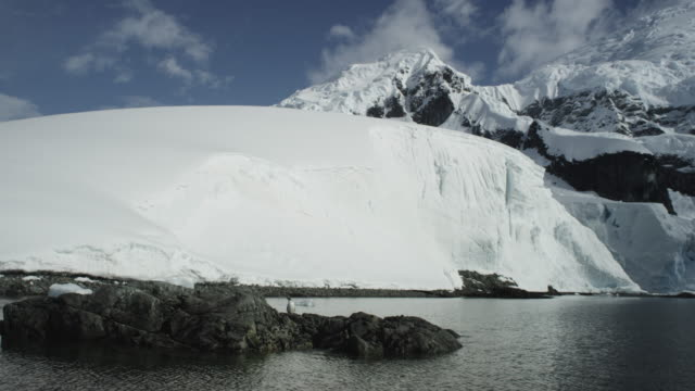 Antarctica, Glaciers and Mountains