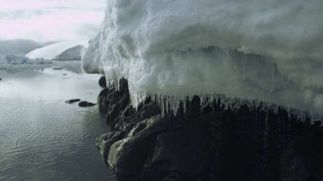 antarctica, glaciers, melting ice - antarctica melting stock videos & royalty-free footage