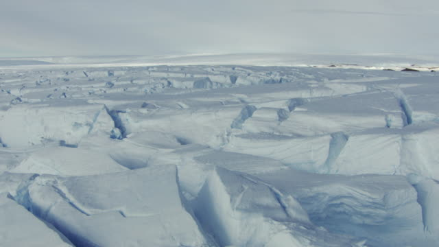 antarctica: ice landscape - ice stock videos & royalty-free footage