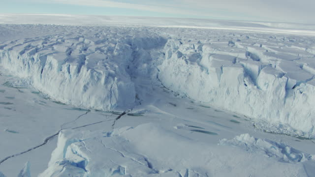 antarctica: ice landscape - glacier stock videos & royalty-free footage