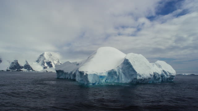 antarctica, ice - antarctica iceberg stock videos & royalty-free footage