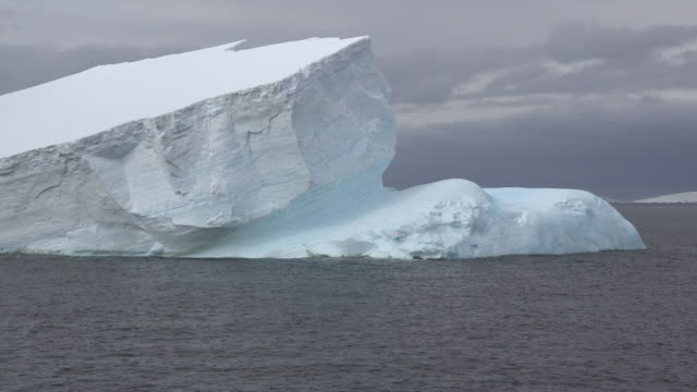 antarctica iceberg.mov - ice sheet stock videos and b-roll footage