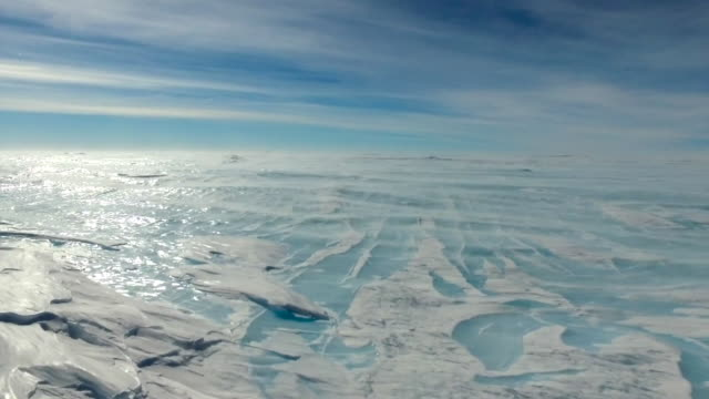 vídeos de stock e filmes b-roll de antarctica landscape - clima polar