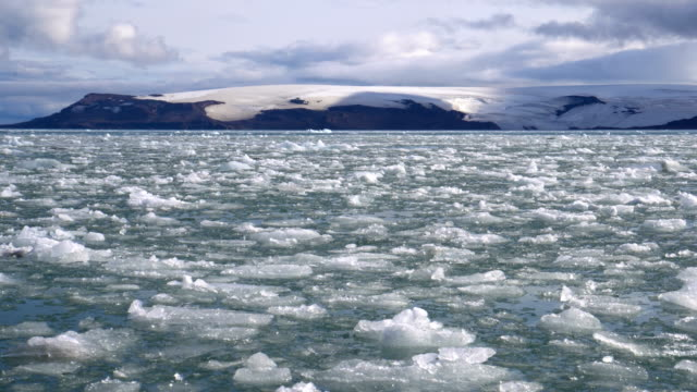 Antarctica- sailing between ice fregments