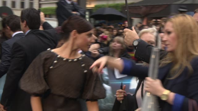 Ante Traue at 'Man of Steel' European Premiere at Leicester Square on June 12 2013 in London England