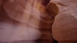 Antelope Canyon's narrow corridor