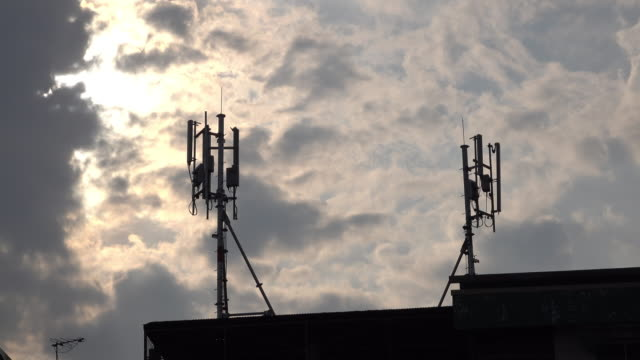 Antenne van radiocommunicatie