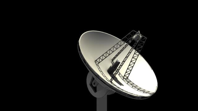 stockvideo's en b-roll-footage met 3d antenna with alpha matte - beeldtechniek