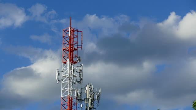 vídeos y material grabado en eventos de stock de torre soporte de antenas - torres de telecomunicaciones
