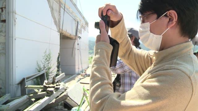 Antes del tsunami de 2011 Rikuzentakata era conocido por sus playas cristalinas VOICED Japon destruccion atrae turismo on August 01 2013 in Tokyo...