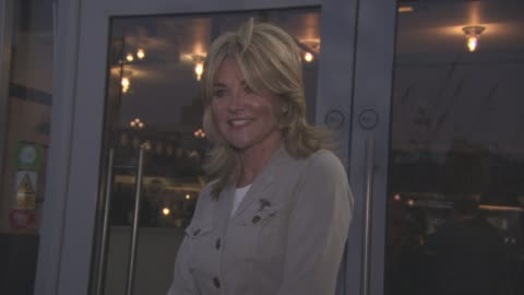 anthea turner at the real greek dining event on april 18, 2016 in london, england. - anthea turner stock videos & royalty-free footage