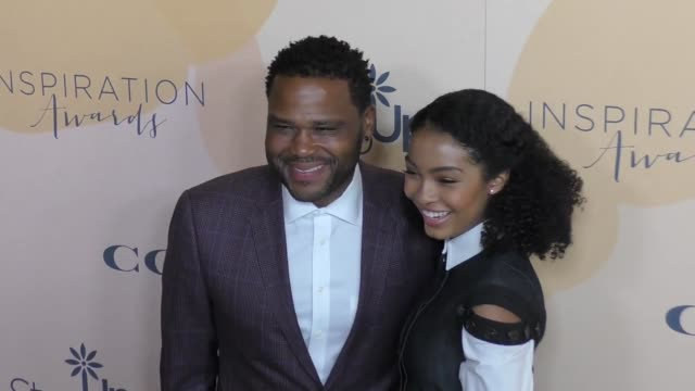 Anthony Anderson and Yara Shahidi at The Step Up 14th Annual Inspiration Awards at The Beverly Hilton Hotel on June 02 2017 in Beverly Hills...