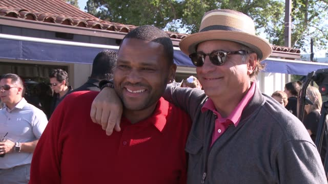 Anthony Anderson Andy Garcia at The 8th Annual George Lopez Celebrity Golf Classic Presented by Sabra Salsa in Los Angeles CA