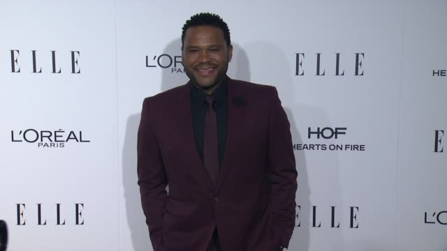 anthony anderson at 23rd annual elle women in hollywood celebration at four seasons hotel los angeles at beverly hills on october 24, 2016 in los... - anthony anderson stock videos & royalty-free footage