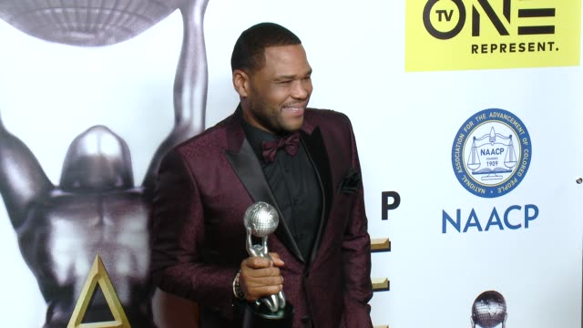 Anthony Anderson at 47th NAACP Image Awards in Los Angeles CA