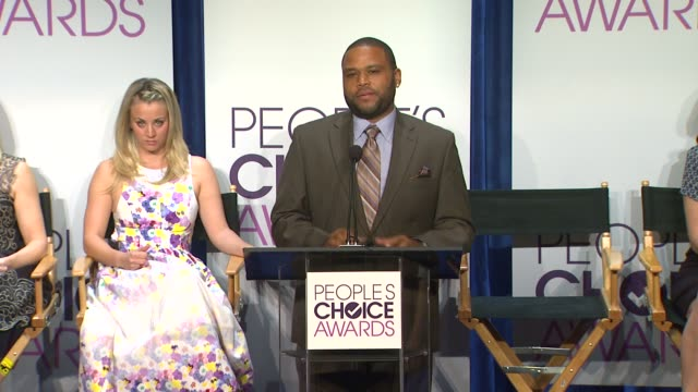 anthony anderson at people's choice awards 2013 nominations press conference in beverly hills, ca, on 11/15/12 - anthony anderson stock videos & royalty-free footage
