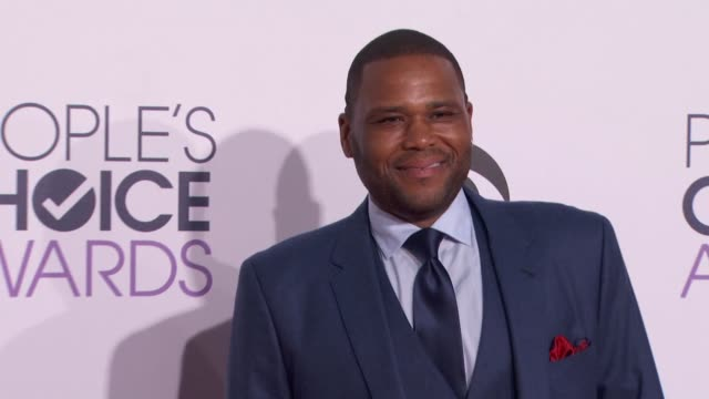 Anthony Anderson at People's Choice Awards 2015 in Los Angeles CA