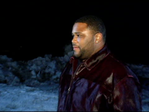 anthony anderson at the 2005 sundance film festival 'hustle and flow' premiere at the racket club theater in park city, utah on january 22, 2005. - anthony anderson stock videos & royalty-free footage