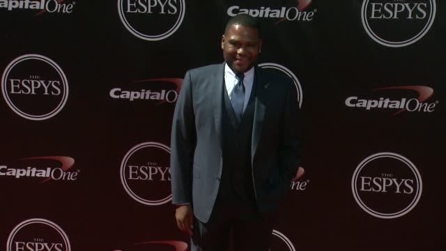 anthony anderson at the 2014 espy awards in los angeles ca - espy awards stock videos & royalty-free footage