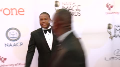 anthony anderson at the 46th annual naacp image awards - arrivals at pasadena civic auditorium on february 06, 2015 in pasadena, california. - pasadena civic auditorium stock videos & royalty-free footage