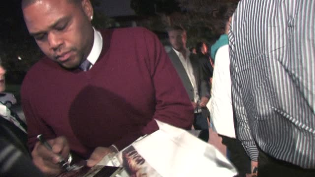 anthony anderson at the back up plan premiere. at the celebrity sightings in los angeles at los angeles ca. - anthony anderson stock videos & royalty-free footage
