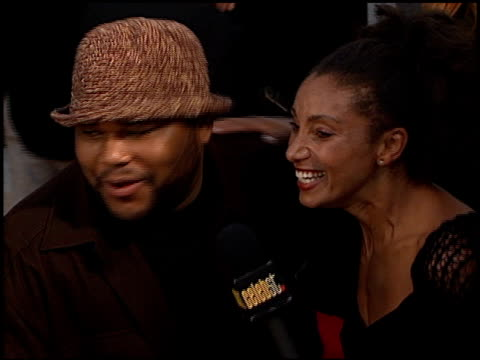 anthony anderson at the 'big momma's house' premiere at the cinerama dome at arclight cinemas in hollywood, california on may 31, 2000. - anthony anderson stock videos & royalty-free footage