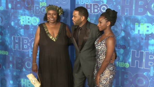 anthony anderson at the hbo's post emmy awards reception - arrivals at the plaza at the pacific design center on september 18, 2016 in los angeles,... - anthony anderson stock videos & royalty-free footage
