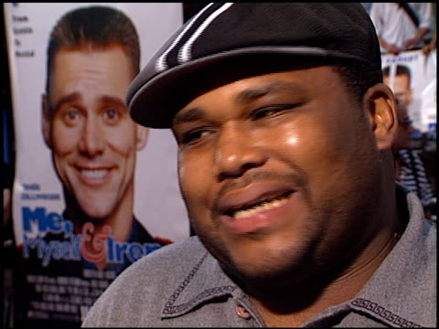anthony anderson at the 'me, myself and irene' premiere on june 15, 2000. - anthony anderson stock videos & royalty-free footage