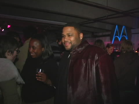 anthony anderson at the motorolas 2nd annual late night lounge at motorola lodge in park city, utah. - anthony anderson stock videos & royalty-free footage