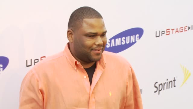 anthony anderson at the samsung and sprint present the upstage country club at upstage country club in los angeles, california on april 15, 2007. - anthony anderson stock videos & royalty-free footage