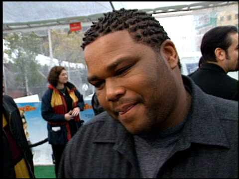 Anthony Anderson at the See Spot Run Premiere at Grauman's Chinese Theatre in Hollywood California on February 25 2001