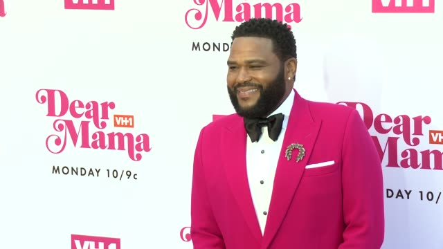 anthony anderson at vh1 dear mama: a love letter to mom premieres monday, may 6th at 10pm et/pt on vh1 in los angeles, ca 5/2/19 - anthony anderson stock videos & royalty-free footage